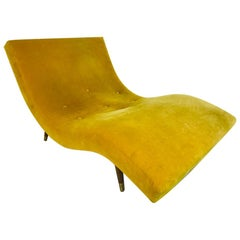 Adrian Pearsall Mid-Century Modern Wave Form Chaise Lounge