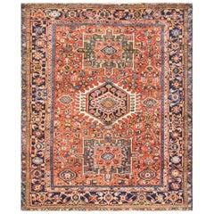 Amazing Antique Persian Karajah Rug