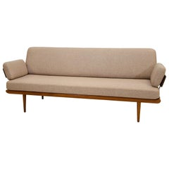 "Danish ""Minerva"" Sofa or Day Bed, Peter Hvidt & Orla Mølgaard-Nielsen"