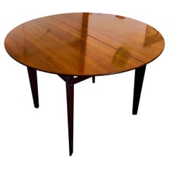 Italian Midcentury Rosewood Extendable Dining Table by Vittorio Dassi, 1950s