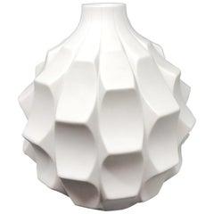 Midcentury Bisque Artichoke Vase by Heinrich Fuchs for Hutschenreuther, 1960s
