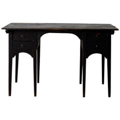 Desk Partner Swedish Gustavian Black Sweden