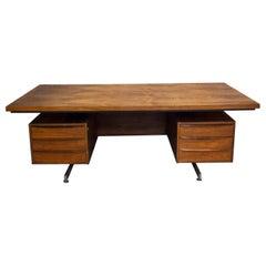 Midcentury Vintage Danish Desk, Rosewood Veneer, 1960
