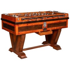 Beautiful Mid-20th Century French Table Football Game