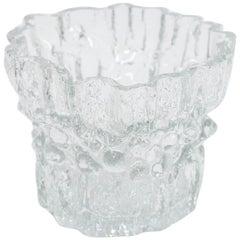 Tapio Wirkkala Pair of Inari Art Glass Vases, Iittala
