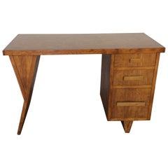 Rare Midcentury Ply Desk