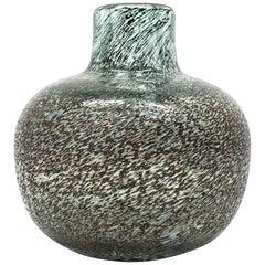Midcentury Rare Norwegian Glass Vase by Arne Lindaas