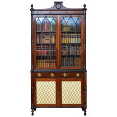 Regency Mahogany Bookcase