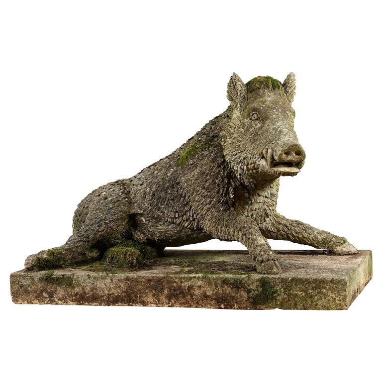 Garden Statue of the Uffizi Boar For Sale