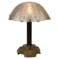 """René Lalique Lamp """"Lierre"""""""