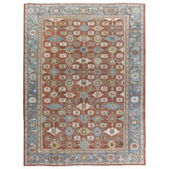 Antique Persian Sultanabad Rug, circa 1890