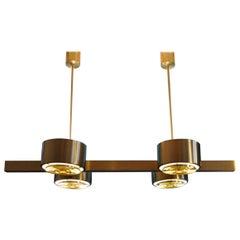Midcentury Brass Chandelier by Hans Agne Jakobsson T261-4