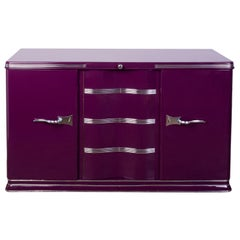Luxe Art Deco Sideboard in Lilac
