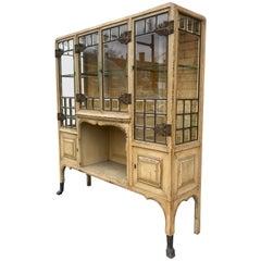 Stunning Beveled Glass Cabinet/Etagere