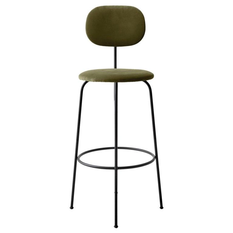 Magnificent Afteroom Bar Chair Plus Black Legs City Velvet Ca7832 031 Earth Seat Back Uwap Interior Chair Design Uwaporg
