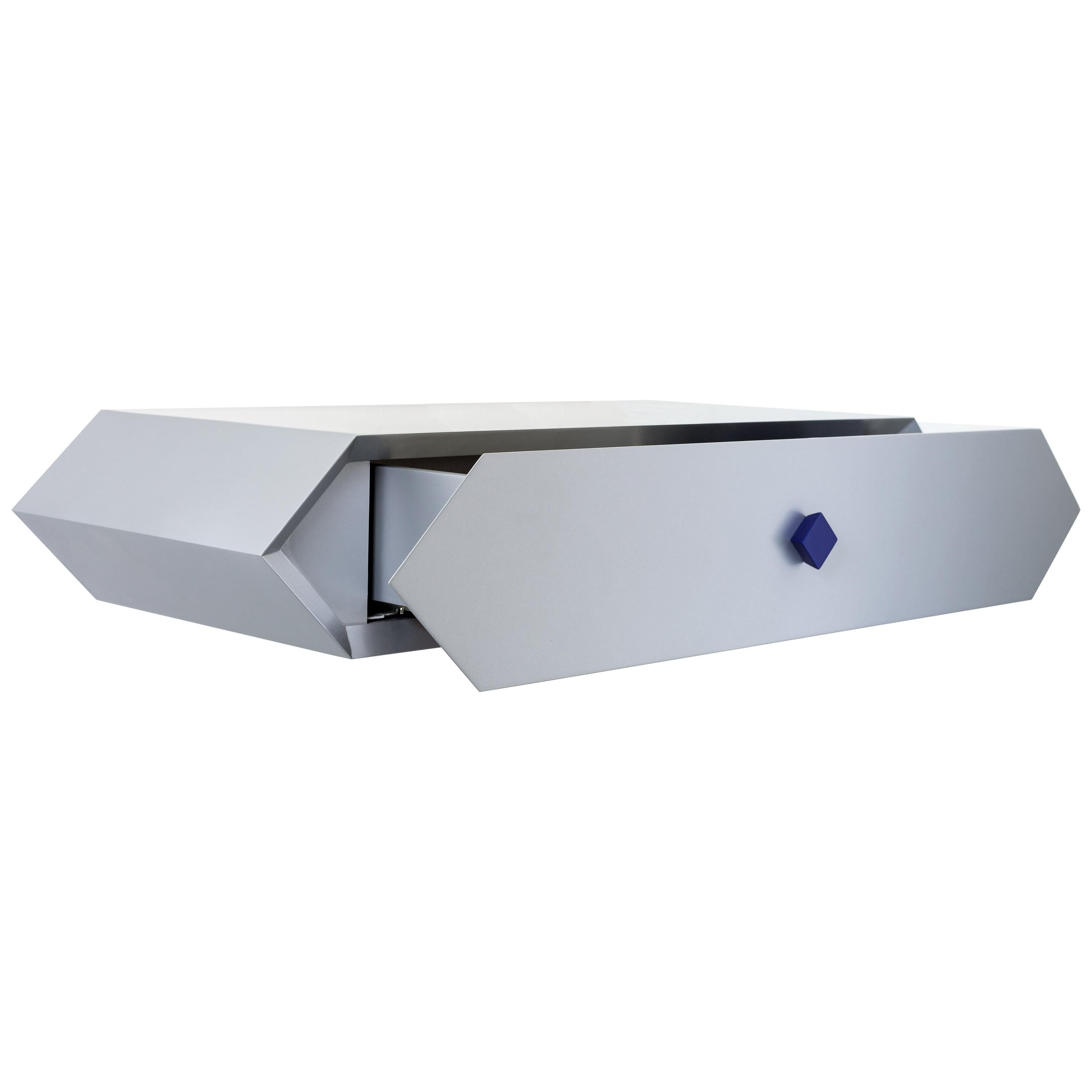 Contemporary Wall Fast Desk Jimmie Wood by Chapel Petrassi