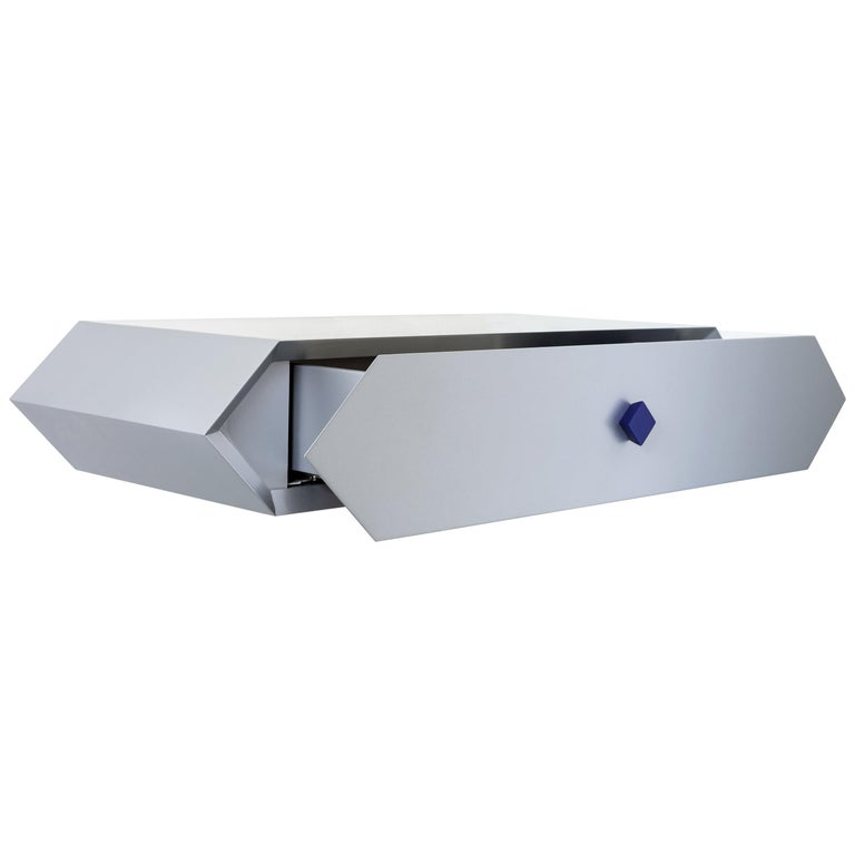 Contemporary Wall Fast Desk Jimmie Wood by Chapel Petrassi For Sale