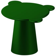 Contemporary Coffee Table Green Donald Wood by Chapel Petrassi