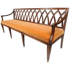 19th Century French Directoire Bench