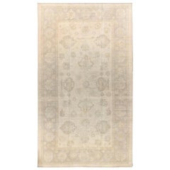 Modern Oushak Rug in a Classical Style
