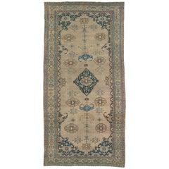 Antique Persian Camel Hamedan Rug