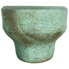 Original 1960 Ceramic Studio Pottery Vase by Piet Knepper for Mobach Netherlands