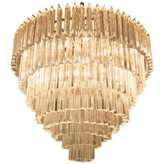 Layered Chandelier by Venini
