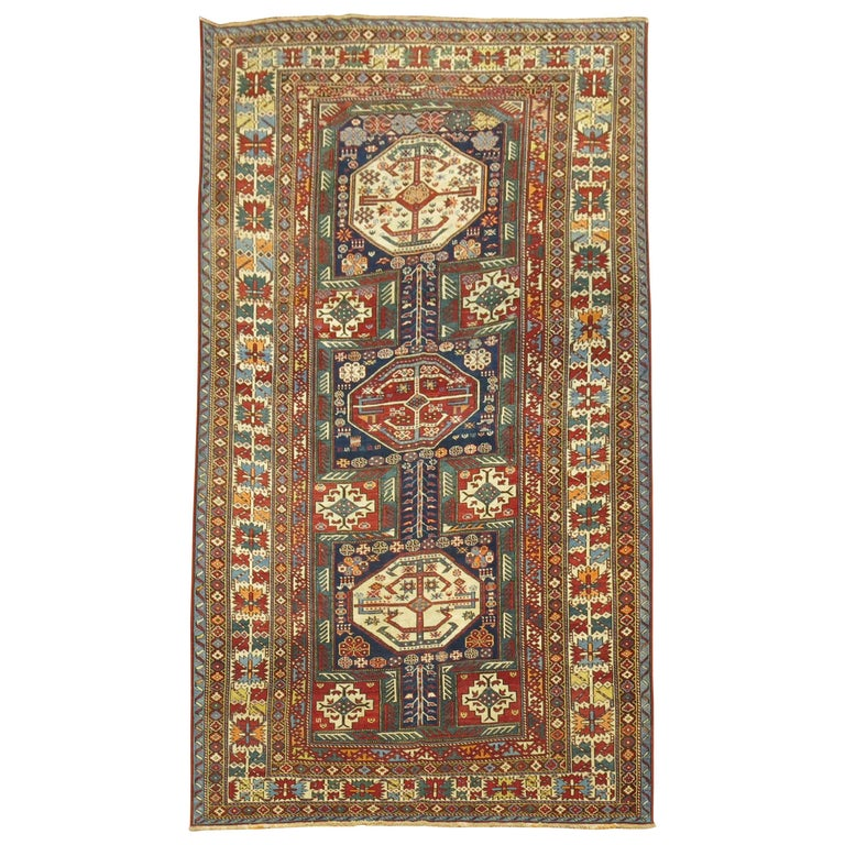 Tribal Antique Shirvan Rug For Sale