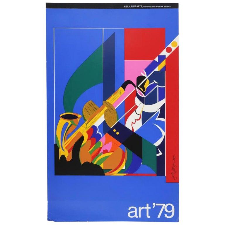Art '79 Calendar of Prints by HMK Fine Arts For Sale