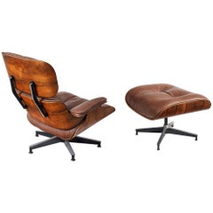 Lounge Chair and Ottoman by Charles and Ray Eames