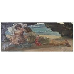 William Edward Frank Britten Painting
