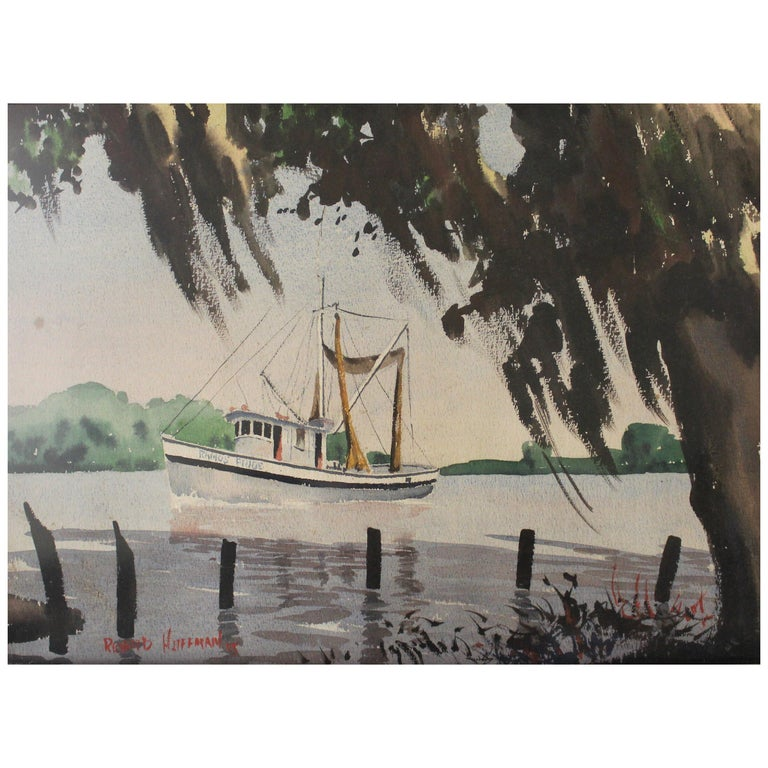Richard Hoffman Painting For Sale