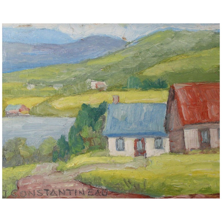 Jean Constantineau Painting For Sale