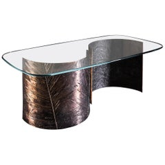 C Bronze Table in Bronze by Gianluca Pacchioni