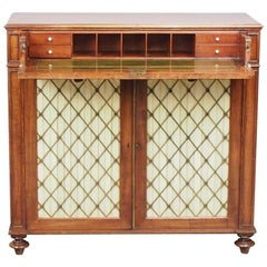 George IV Secretaire Side Cabinet