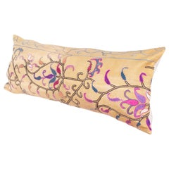 Antique Suzani Pillow Case, Late 19th Century