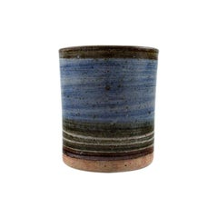Helle Alpass Vase of Glazed Stoneware