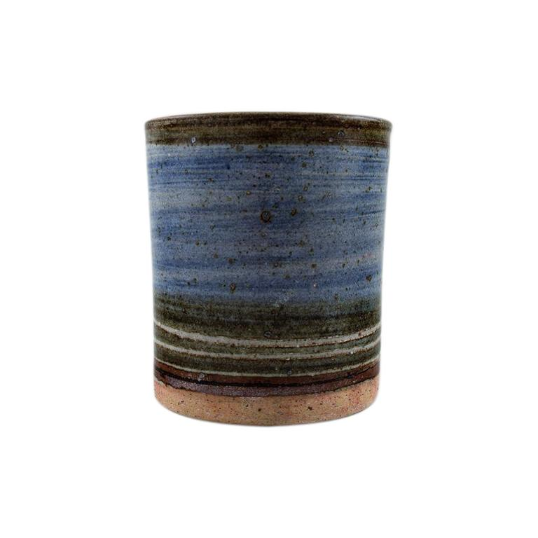 Helle Alpass Vase of Glazed Stoneware For Sale