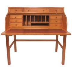 Andreas Hansen Danish Roll Top Writing Desk