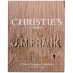Christies London, May 2000, a Private European Collection 'J M Frank'