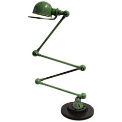 Vintage 4-Arm Jielde Industrial Floor Lamp, 1950s