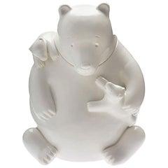 Mama Bear Cookie Jar by Tom Otterness