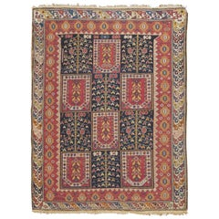 Antique Caucasian Shirvan Rug, circa 1880