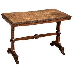 Burr Elm Writing-Table