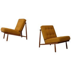 Alf Svensson Easy Chairs Model Domus by DUX, 1960s