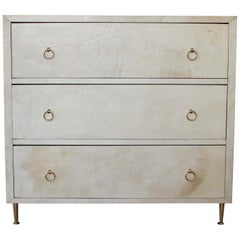 Modern Parchment Dresser