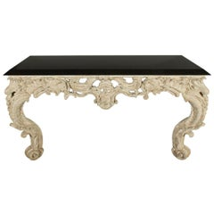Ornate Wall-Mount Console Table by Sally Sirkin Lewis for J Robert Scott