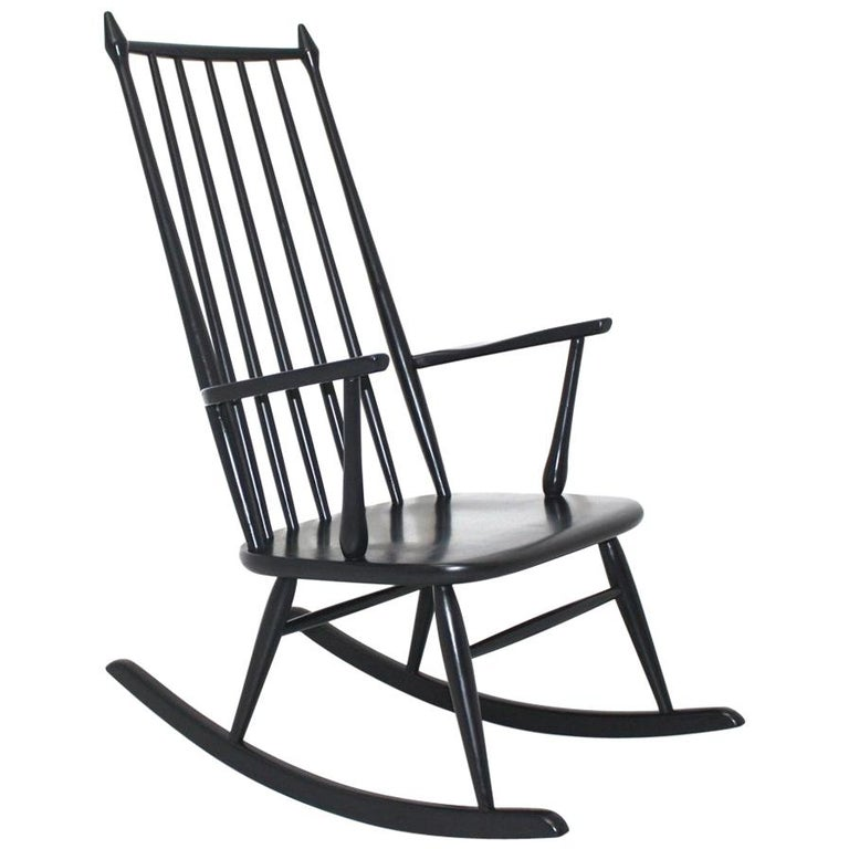 Inside ebony black rocking chair fucking girls accidental