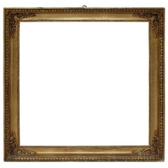 20th Century Italian Gilded Wood Frame