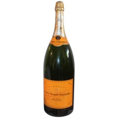 Veuve Clicquot Large Champagne Bottle